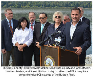 Molinaro Joins with Area Leaders to Urge EPA for Comprehensive Cleanup of Hudson River