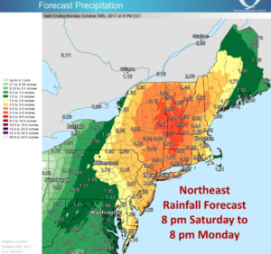 Big Rain Storm This Weekend