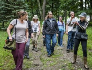 Take a Hike Tuesday  at The Connecticut Audubon Society's Deer Pond Farm