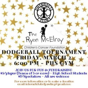 The Ryan McElroy Children's Cancer Foundation Dodgeball Tournament