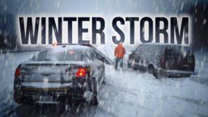 State Thruway and Most Interstate Highways in Advance of Winter Storm Harper