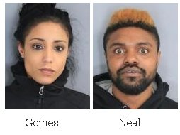 Man and woman arrest for drug possession after a traffic