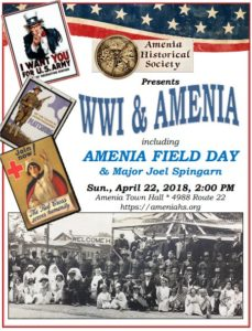WWI & Amenia including Amenia Field Day