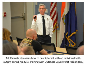 Dutchess County to HostAutism Training for First Responders
