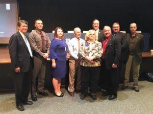 Faso Participates in Opioid Forum at Monticello High School