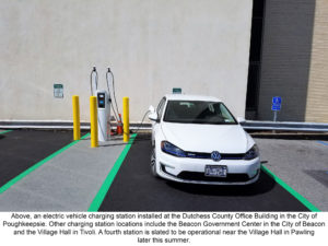 Electric Car Charging Stations Now Available in Various Dutchess County Locations