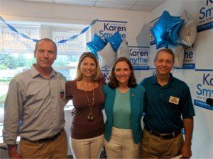 Karen Smythe Opens State Senate Campaign Office In Hyde Park