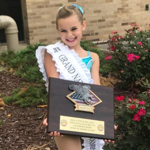 Local child wins Grand National Baton Twirling Championship