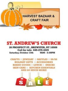 St. Andrew's Church Harvest Bazaar & Craft Fair
