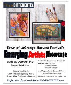 'ThinkDIFFERENTLY' Emerging Artists Showcase Part of LaGrange Harvest Festival