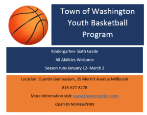 Town of Washington Youth Basketball Program