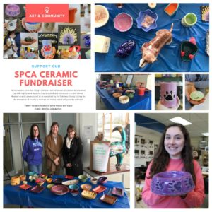 MHS Art students participate in SPCA fundraiser