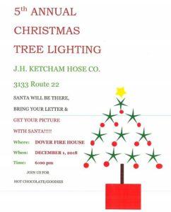 5th Annual J.H. Ketcham Christmas Tree Lighting