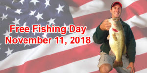 Enjoy A Day Of Free Fishing On November 11