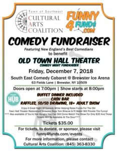 Old Town Hall Theater Comedy Night Fundraiser