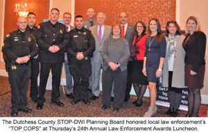 "24th Annual STOP-DWI Law Enforcement Awards Honor Local ""TOP COPS""  Thanksgiving crackdown on impaired drivers takes place Nov. 21-25"
