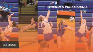 Meredith Dignan of Millbrook earns All-SUNYAC honors for Women's Volleyball at SUNY New Paltz.