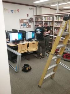 Pawling Library Teen Space Construction Nearing Completion
