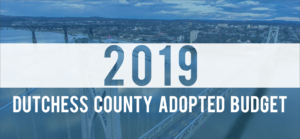 Bipartisan Adoption of 2019 Dutchess County Budget