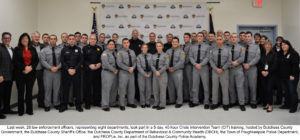 28 Local Law Enforcement Officers Graduate County's  Crisis Intervention Team Training