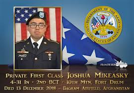 Governor Directs Flags to Half-Staff in Honor of PFC Joshua Mikeasky