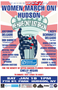 Antonio and Lacey Delgado to speak at Women March On! Hudson, January 19