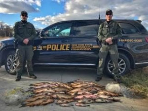 DEC Environmental Conservation Police Officer Highlights – ECO Actions for Late December and Early January