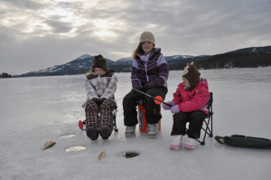 DEC Reminds Anglers to Put Safety First When Ice Fishing