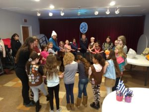 Harlem Valley Girl Scout Service Unit met at the Dover VFW for the annual celebration of World Thinking Day