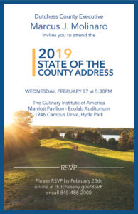 2019 State of the County  Wednesday, February 27th