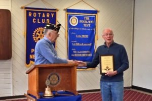Pawling Rotary Honored by American Legion