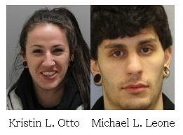 Pair arrested for possessing heroin and stolen jewelry following a traffic stop on the Thruway