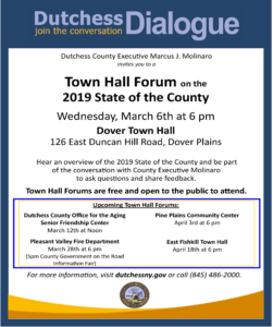 Town Hall Forum at the Dover Town Hall