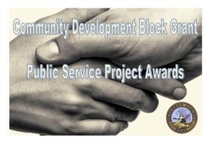 County Awards $150,000 for Public Services Projectsthrough Community Development Block Grant Program