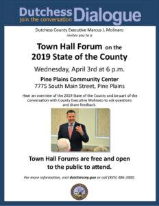 Next Town Hall Forum at Pine Plains CommunityCenter