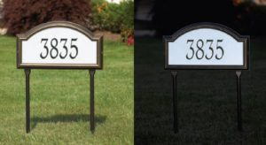 Sherman House Numbering Eagle Scout Project
