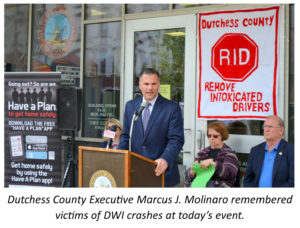 Dutchess County Remembers Drunk Driving Crash Victims