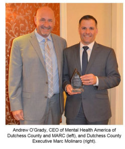 Dutchess County's Substance AbusePrevention & Recovery Efforts Honored