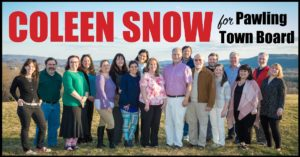 COLEEN SNOW Launches 2019 Campaign for Pawling Town Board