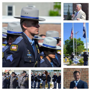 Fallen Law Enforcement Officers Honored at Sheriff's Office Memorial Event