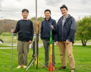 Millbrook School Team in Finals of National Rocketry Competition