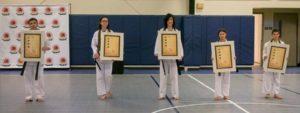 Pawling Karate Celebrates New Black Belts!