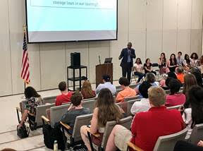 Delgado Holds Youth Town Hall at Arlington High School