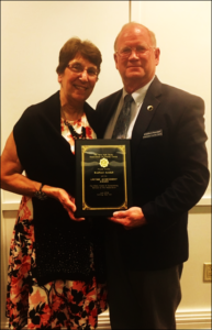 State Association of County Clerks Presents Lifetime Achievement Award to County Clerk Kendall