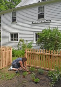 The Merwinsville Hotel  features new kitchen garden during Summer Sunday tours