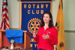 Pawling High School Grad is Rotary Speaker