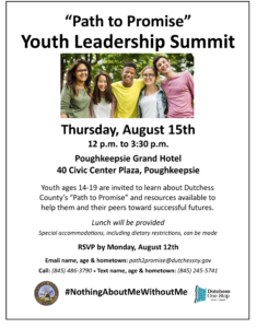 County Hosts 'Path to Promise' Youth Summit