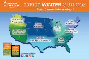 "Wild Ride Ahead – 2020 Farmers' Almanac Predicts A ""Polar Coaster"" Winter!"