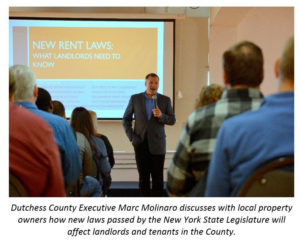 County, Partners Inform Landlords on Impact of New State Tenant Protection Laws