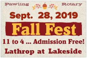 Pawling Rotary's Fall Fest Is Just Around the Corner!
